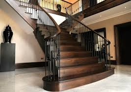 black staircase g curnick joinery