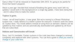 garry u0027s mod 13 toybox is gone youtube