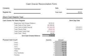 Drawer Balance Sheet Template And Banking Controls Vitalics