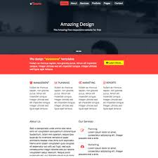 templates bootstrap html5 vteam free bootstrap html5 website template