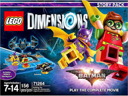 amazon com lego batman movie story pack lego dimensions not