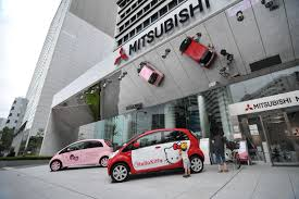 mitsubishi cars mitsubishi motors electric hello kitty cars tokyobling u0027s blog
