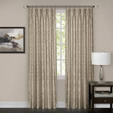 Navy Blue Blackout Curtains Windsor Pinch Pleat Curtain Panel Walmart Com