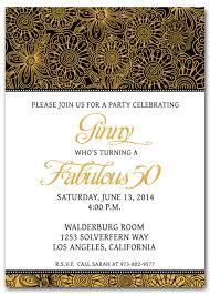 invitation wording for 50th birthday invitation librarry