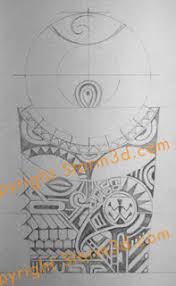 polynesian shoulder design dwayne johnson style que la historia
