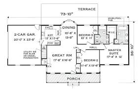 single level house plans small one level house plans one story country house plans best of