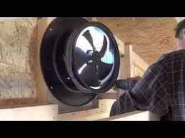 installing a gable vent fan yellowblue solar gable fan install video youtube
