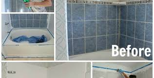 How To Paint Old Bathroom Tile - how to make bathroom beautiful by small bathroom makeovers u2013 best