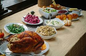 going buffet style for thanksgiving here are the food