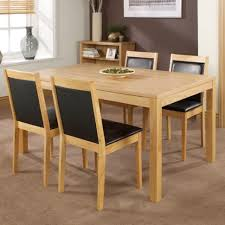 kitchen fabulous light oak table and chairs oak and grey dining