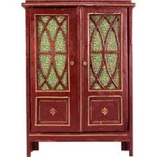 Antique German Display Cabinet Antique German Rock Graner Miniature China Cabinet From The