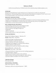 nanny resume template nanny resume template time sle how to write resumes