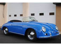 porsche speedster kit car 1957 replica kit replica porsche speedster