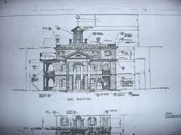 mansion blueprints disneyland haunted mansion blueprints 4 sheets ebay