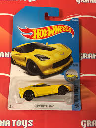 hotwheels corvette corvette c7 z06 128 yellow 2017 wheels f 1 grana
