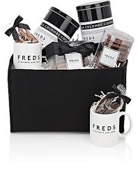new york gift baskets freds at barneys new york coffee chocolate mugs gift basket