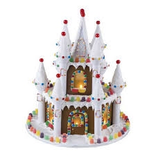 Halloween Castle Cake by Illuminated Gingerbread Castle Wilton