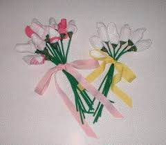 Baby Sock Corsage Modern Baby Shower Decorations How To Make Sock Rose Bouquets