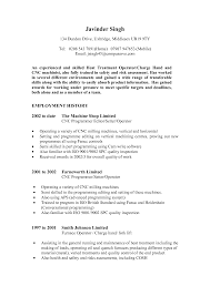 Best Quality Resume Format by Cnc Machine Operator Resume Sample Best Cnc Machine Operator
