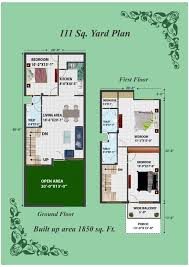 120 yard home design 120 square yards duplex house plans home mansion