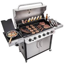 Brinkmann 2 Burner Gas Grill Review by Char Broil Performance 650 6 Burner Gas Grill Review Divinegrill Com
