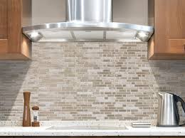 interior elegant gas stove with peel and stick backsplash for