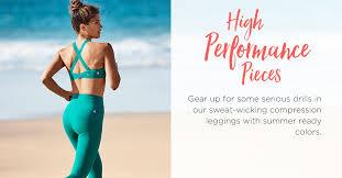 chambre des m iers de la moselle activewear fitness workout clothes fabletics by kate hudson