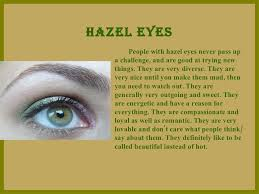 what does your eye color say about you awwe eye