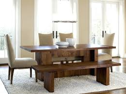 Dining Room Sets With Bench Seating by Dining Table Curved Bench For Round Dining Table Curved Bench