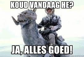 Bad Weather Meme - koud vandaag he ja alles goed bad weather boss meme generator