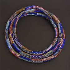 beaded necklace rope images Het westen bead designs by felhandler steeneken jewelry designs jpg