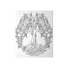 celtic knot tree of boards by lakelandwholes1 redbubble