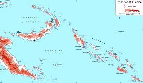 Guadalcanal Map Guadalcanal The First Offensive