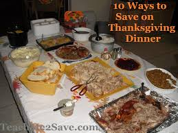 10 ways to save money on thanksgiving dinner funtastic