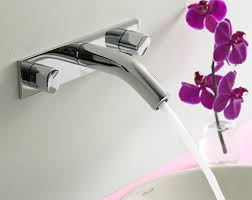 Wall Mounted Bathroom Faucet Kohler Oblo Wall Mounted Bathroom Faucet Modern Home Decor
