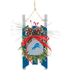 detroit lions ornaments lions tree ornaments