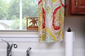 Make Kitchen Curtains by How To Make Kitchen Curtains Best Curtain 2017
