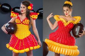 balloon dress this woman s balloon dresses are metro news