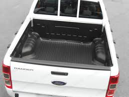 Ford Ranger Truck Accessories - ford ranger mk5 super cab truck bed liner under rail ranger