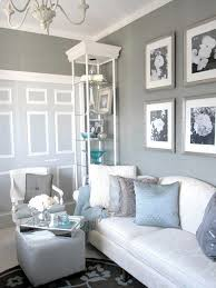Blue And White Living Room Decorating Ideas Home Interior Design - Living room design blue
