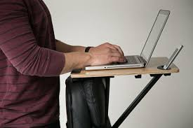Sit Stand Desk Attachment by Finally A Portable Standing Desk You Can Bring Anywhere Homes