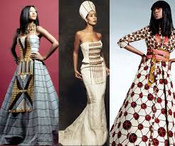 robe africaine mariage la robe de mariée dans le monde