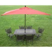 Rectangle Patio Umbrella Premium 10 Rectangular Patio Umbrella Free Shipping Today