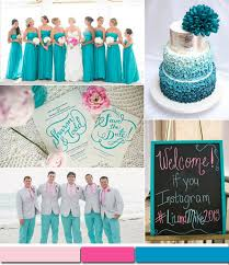 turquoise wedding top 10 summer wedding color ideas trends 2015 part i