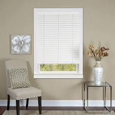 hampton bay faux wood blinds blinds the home depot