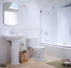 glass shower door for bathtub kohler archer in bathroom traditional with sliding shower door