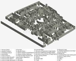 floor plan of hagia sophia floor plan of hagia sophia museum stock vector illustration of
