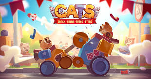 c a t s crash arena turbo stars a mobile game by zeptolab