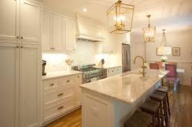 antique white kitchen cabinets brass transitional custom cabinets white cabinets brass fixtures