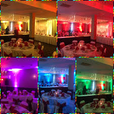 uplighting wedding dj one tyme for hire uplights wirless wedding rental